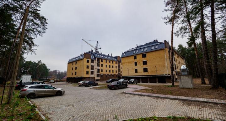 Обустройство жилого комплекса   «Красный бор»